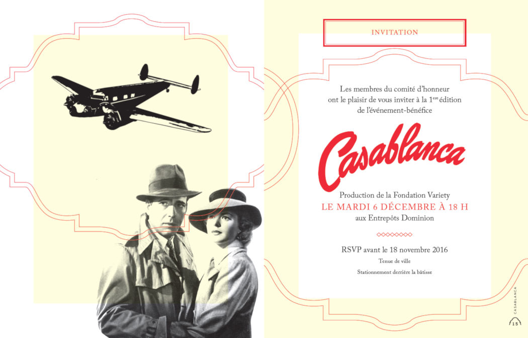 Soirée Casablanca